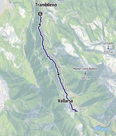 Map / Torrente Leno di Vallarsa F