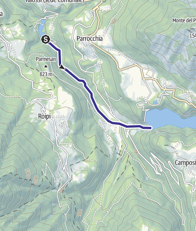 Map / Torrente Leno di Vallarsa F1