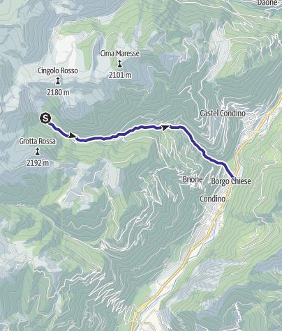 Map / Torrente Giulis B