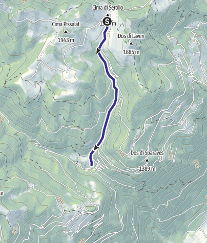 Karte / Rio Serolo F