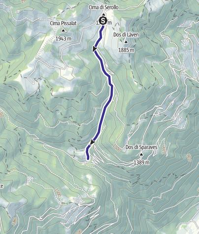 Map / Rio Serolo F