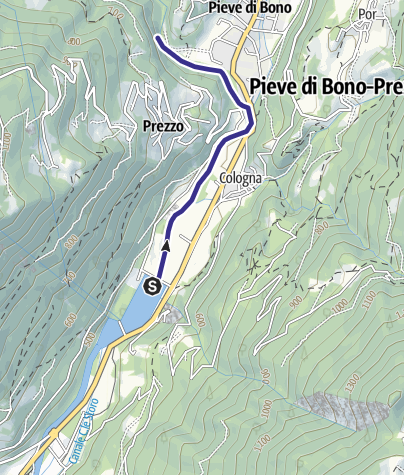Map / Fiume Chiese NK2