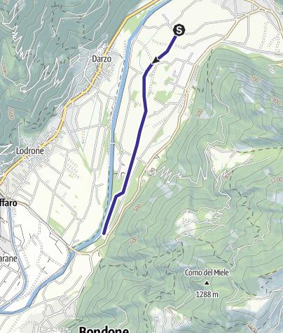 Karte / Rio Lora B