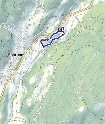 Map / Lago di Roncone A