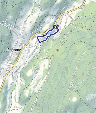 Mappa / Lago di Roncone A