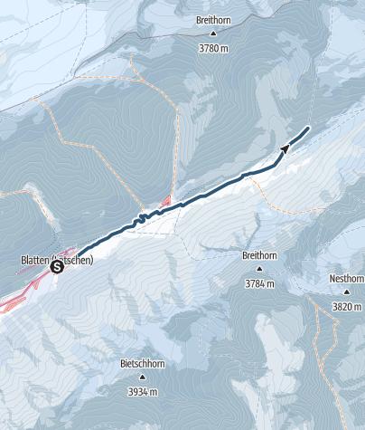Karte / Peter Tscherrig Anenhütte