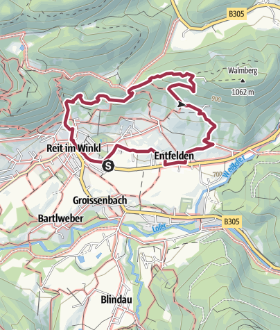 Map / Walmberg - Chiemseeschau