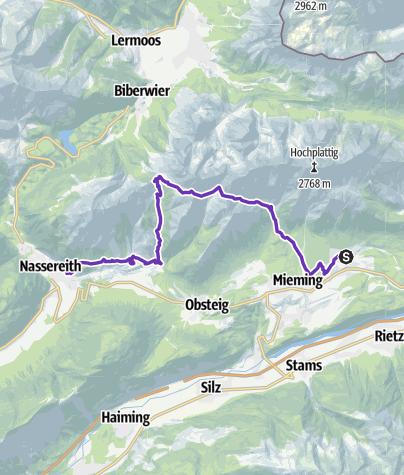 Karte / SALOMON 4 TRAILS 2019 - 3. ETAPPE