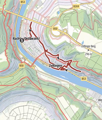 Karte / Von Kurköln zu den Deutschherren