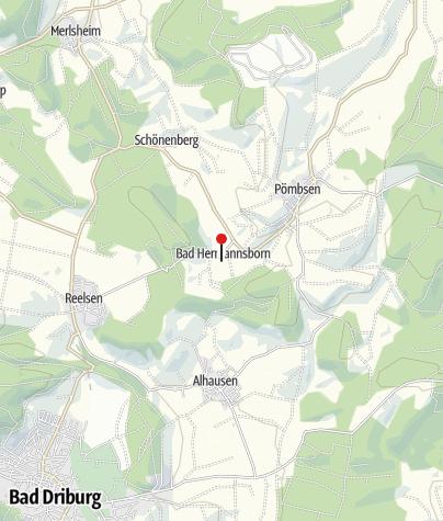 Karte / Park Bad Hermannsborn