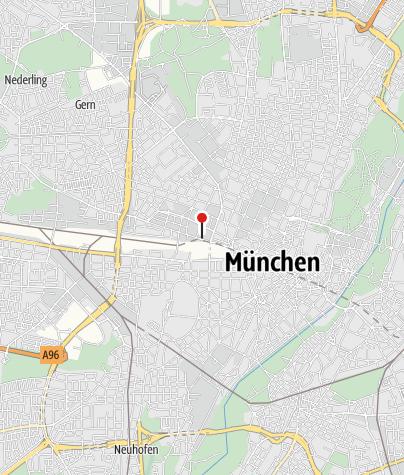 Karte / Isarradweg und die Münchner Seen in einer Reise