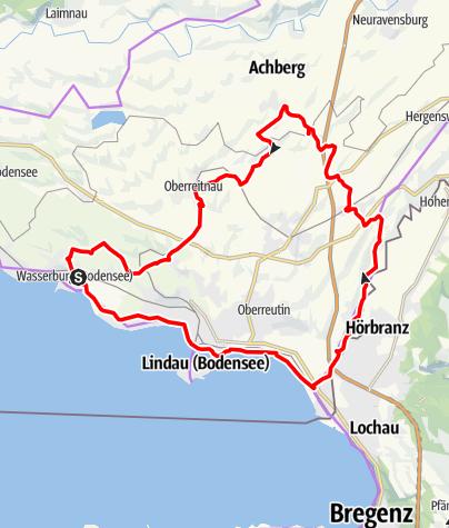 Karte / Schmuggler-Tour