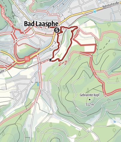 Karte / Bad Laaspher Bierwegelchen