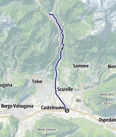 Mappa / Torrente Maso A