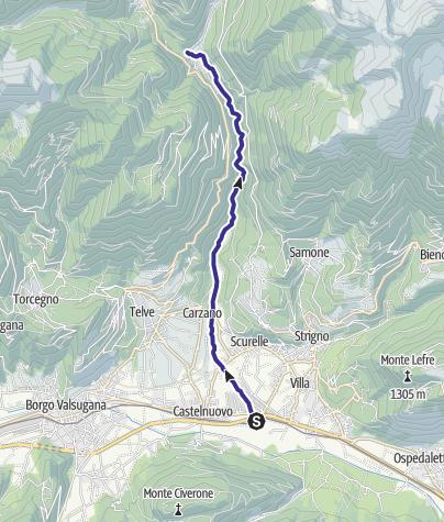 Map / Torrente Maso A