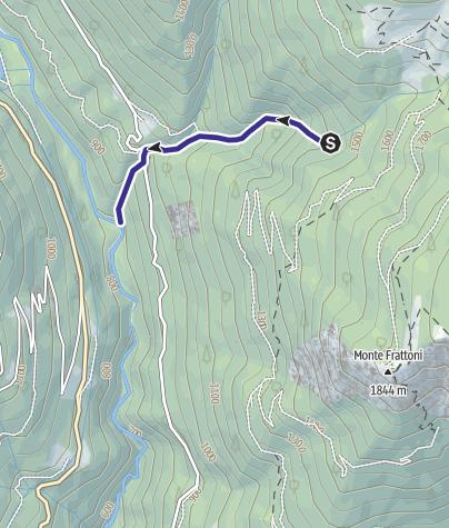 Mappa / Rio Brentana E