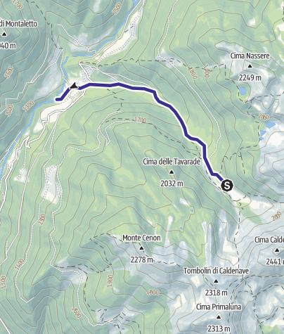 Karte / Rio Caserine G