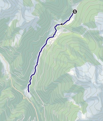 Mappa / Torrente Maso B