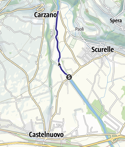 Cartina / Torrente Maso Z