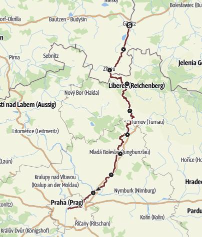 Karte / Zittauer  JW