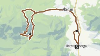 Map / Mountain bike tour – through Halbammer Valley