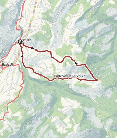 Karte / Moorpfad Mettilimoos