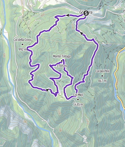 Cartina / Totoga Trail