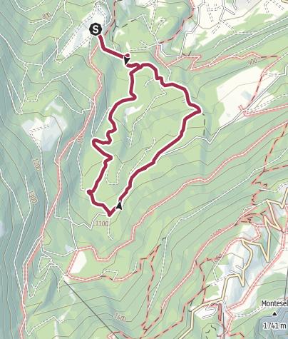 Cartina / Sant'Anna - Lavè - Sant'Anna