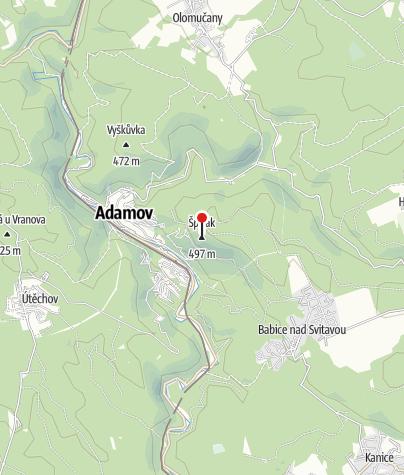 Map / Alexandrova rozhledna (Alexandrovka)