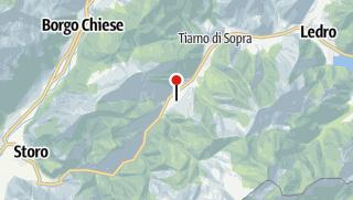 Cartina / Lago d'Ampola