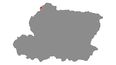 Map / Cammino delle Dolomiti Lienz - Maria Luggau – Sappada / Plodn