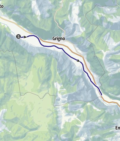 Map / Fiume Brenta A