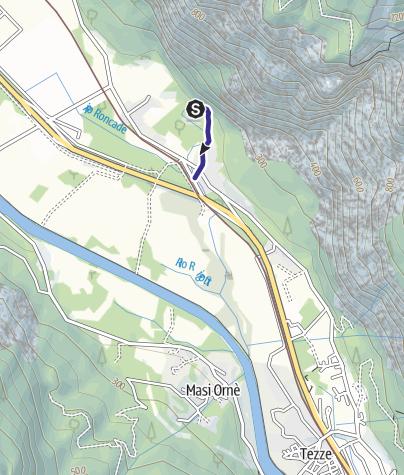 Karte / Rio Resenzuola