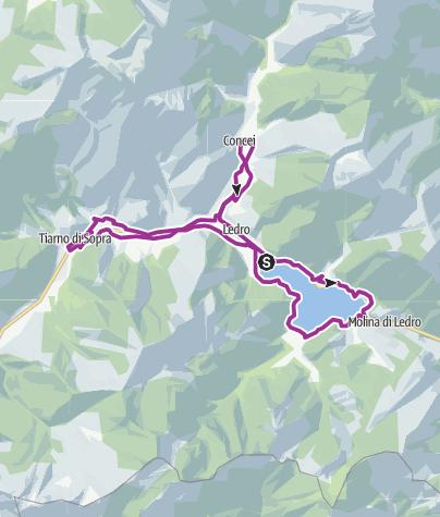 Cartina / La Boemia in Valle di Ledro