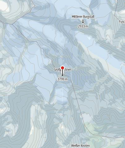Map / Großglockner - Stüdlgrat