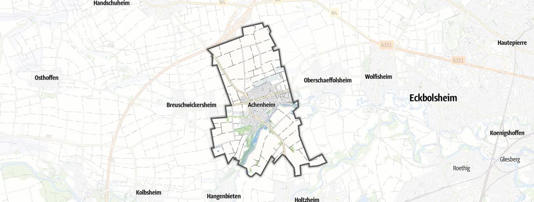 Hartă / Pelerinaje in Achenheim