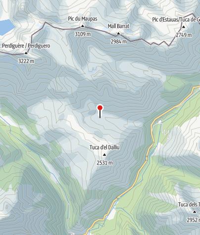 Karte / Cabna de Lliterola