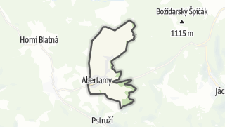 Carte / Abertamy