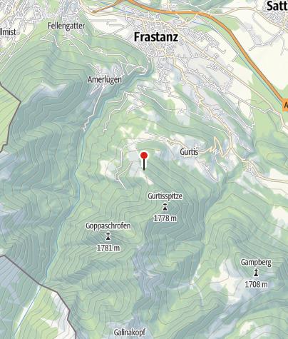 Karte / Bazora Skihütte