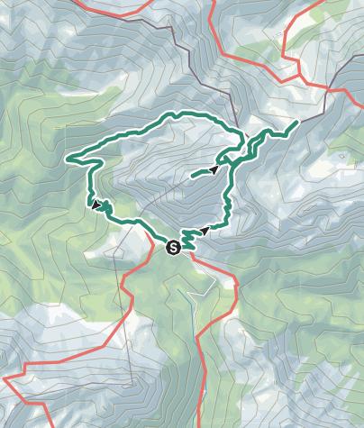 Cartina / Monte Peralba, Sappada, Valle di Sesis