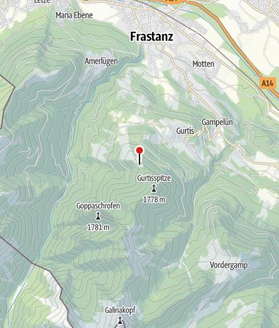 Karte / Bazoraalpe