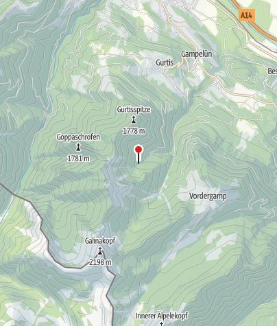 Karte / Sattelalpe