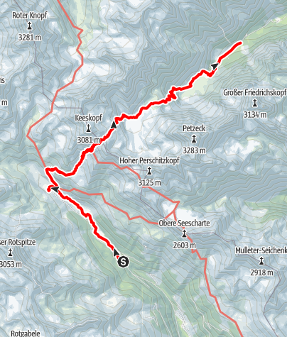Map / Vom Debanttal ins Gradental