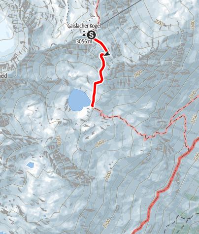Karte / Genusswandern zum Gaislacher See – Genusszeit ice Q