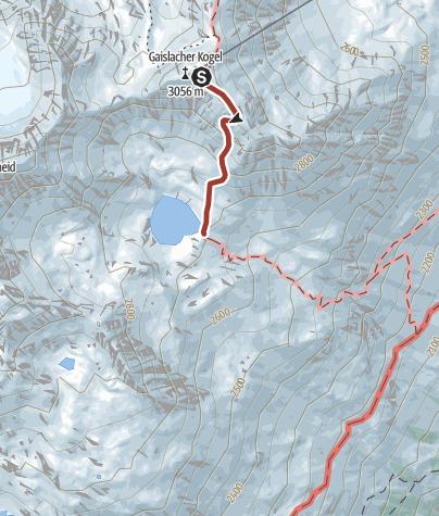 Map / Genusswandern zum Gaislacher See – Genusszeit ice Q