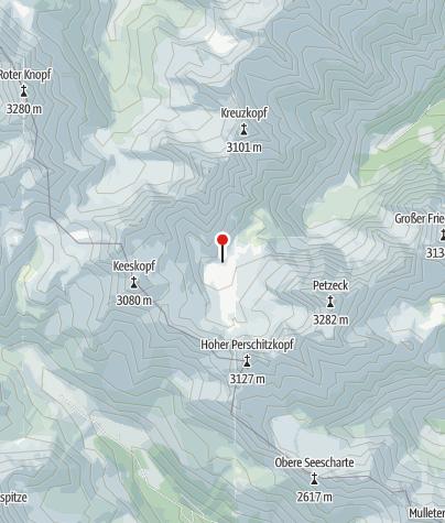 Karte / Adolf-Noßberger-Hütte