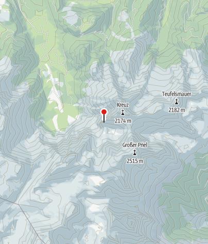 Map / Westverschneidung (Hohes Kreuz)
