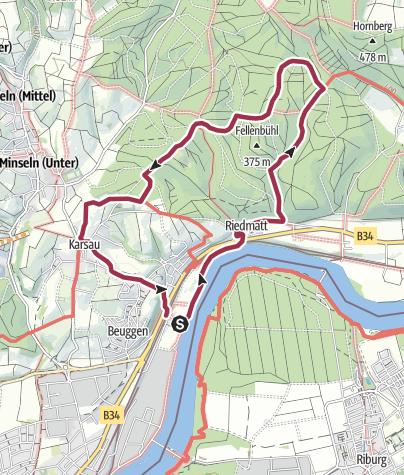Karte / Rundweg Teufelsloch