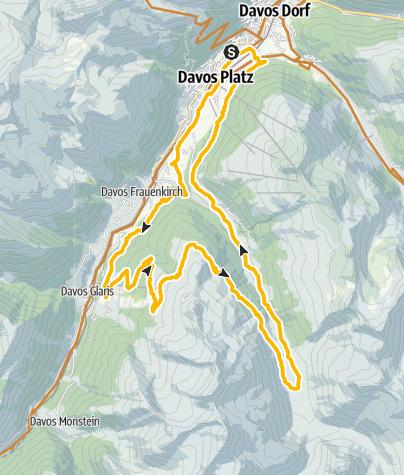 Map / 647 Rinerhorn / Sertig