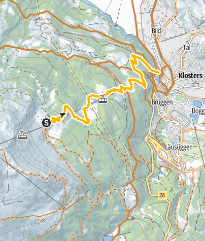 Map / 691 Gotschna Freeride